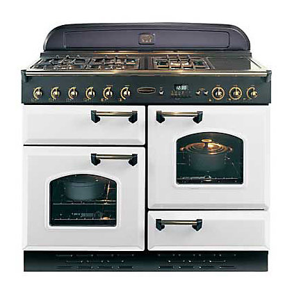 Image for Rangemaster Classic 73670 Natural Gas Cooker - 110cm - Blanc from StoreName