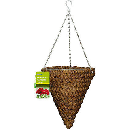 Image for Artificial Water Hyacinth Hanging Cone - 12in from StoreName
