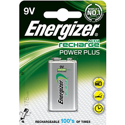 Image for Energizer Rechargeable 9V 175mAh Battery from StoreName