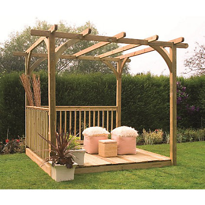 Image for Forest Ultima Pergola Deck Kit - 8x8 from StoreName