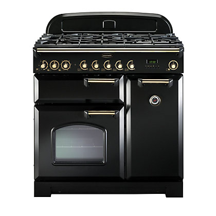 Image for Rangemaster Classic Deluxe 110cm FSD Dual Fuel Range Cooker - Black from StoreName