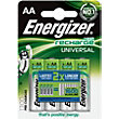 Energizer Rechargeable AA 1300mAh Batteries - 4 Pack