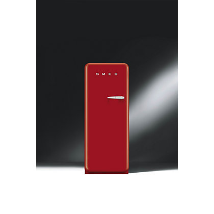 Image for Smeg CVB20LR1 Left Hand Hinged Freezer - Red from StoreName