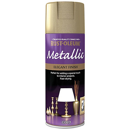 Image for Rust-Oleum Gold - Metallic Spray Paint - 400ml from StoreName