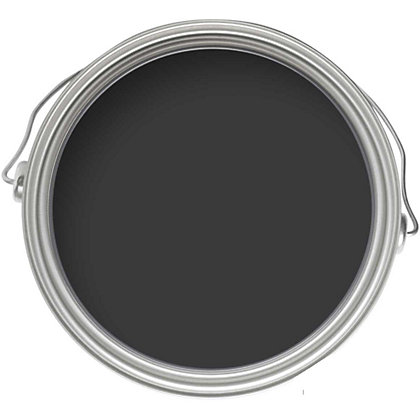 Image for Home of Colour Black Magic - Quick Drying Satin Paint - 750ml from StoreName