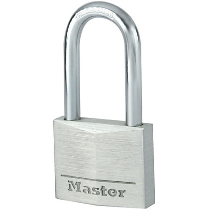 Image for Master Lock Padlock with Long Shackle - Aluminium - 40mm from StoreName