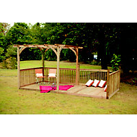 Forest Ultima Pergola Deck Kit - 16x8