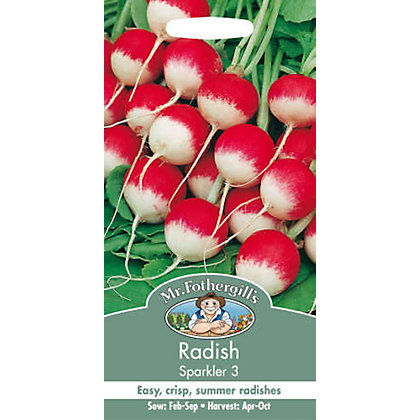 Image for Radish Sparkler 3 (Raphanus Sativus) Seeds from StoreName