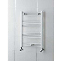 Allegra Heated Towel Rail - White 600 x 400mm