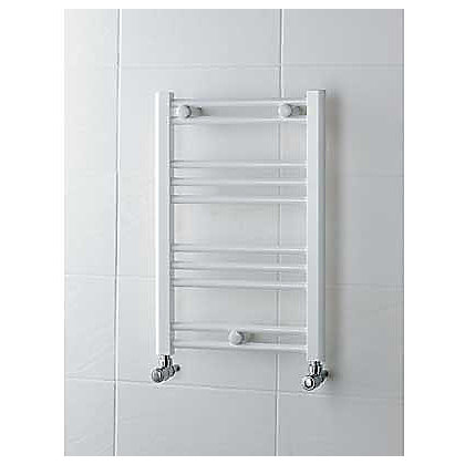 Image for Allegra Heated Towel Rail - 600 x 400mm - White from StoreName