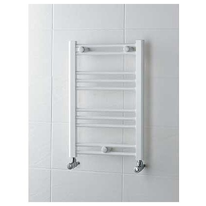 Allegra Heated Towel Rail 600 X 400mm White