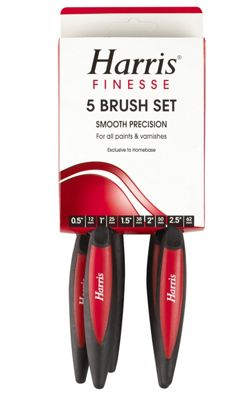 Image of Harris Finesse 5 Brush Set