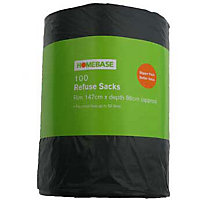 Big Value Refuse Sacks - 100 Pack