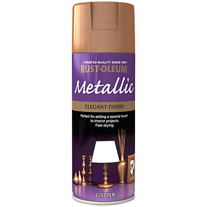Image for Rust-Oleum Copper - Metallic Spray Paint - 400ml from StoreName