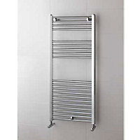 Arabella Heated Towel Rail - Chrome 1100 x 500mm