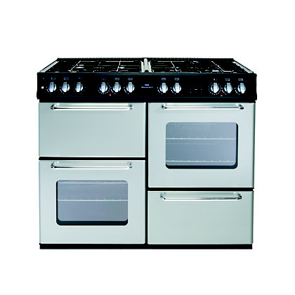 Image for New World 100GT Gas Range Cooker - Silver from StoreName