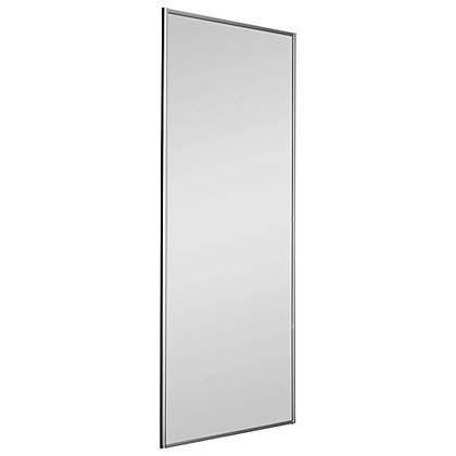 Image for Classic Silver Frame Mirror Sliding Door - 610mm from StoreName
