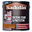 Sadolin Decking Stain and Protector - Golden Brown - 2.5L