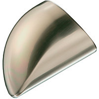 Richard Burbidge Handrail Cap - Brushed Nickel