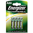 Energizer Rechargeable AAA 800mAh Batteries - 4 Pack