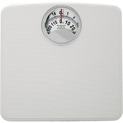 Image for Value Compact Mechanical Bathroom Scale - White from StoreName