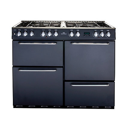 Image for New World 1000DF Dual Fuel Range Cooker - Charcoal. from StoreName