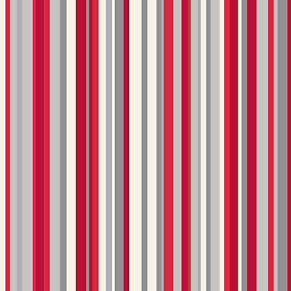 Image for Sophia Stripe Wallpaper - Red from StoreName