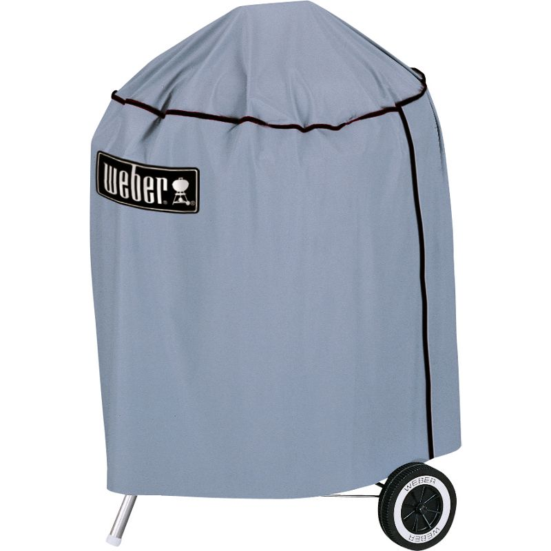 buy weber weber 57cm kettle bbq cover online. Black Bedroom Furniture Sets. Home Design Ideas