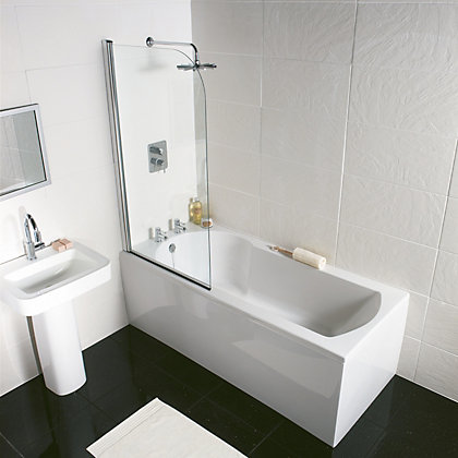 Image for Olney Bow Double Ended Bath End Panel from StoreName