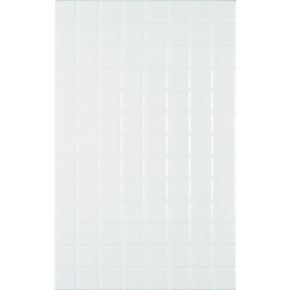Image for Riva White Mosaic Effect Ceramic Wall Tile - 10 Pack from StoreName