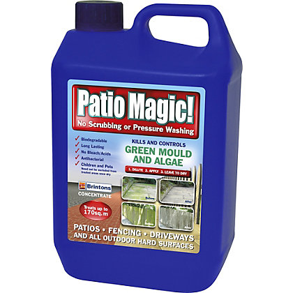 Image for Patio Magic Hard Surface Cleaner - 5L from StoreName