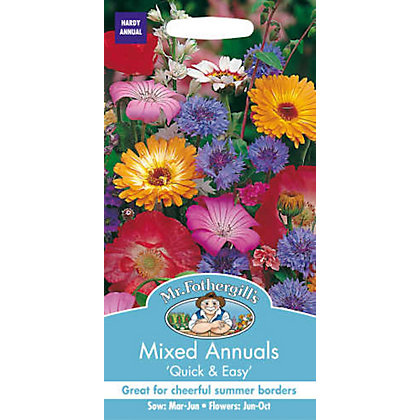 Image for Mixed Annuals Seeds from StoreName