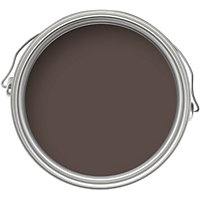 Homebase Weathercoat Bitter Chocolate - Smooth Matt Masonry Paint - 2.5L