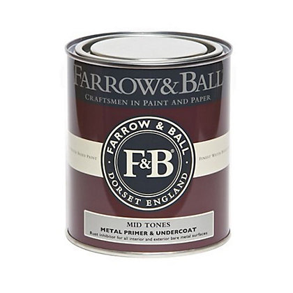 Image for Farrow & Ball Metal Primer and Undercoat - Mid Tones - 750ml from StoreName