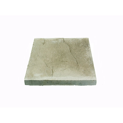 Image for Brett Riven Paving Single Size Patio Pack 450x450mm 12.15sq m 60 Pack - Grey from StoreName