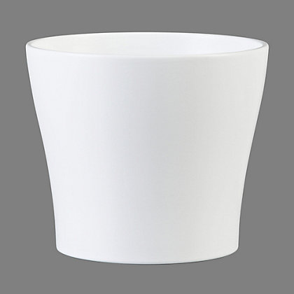 Image for Panna Indoor Plant Pot in White - 11cm from StoreName