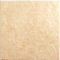 Montana Floor Tiles - Beige - 330 x 330mm - 9 Pack