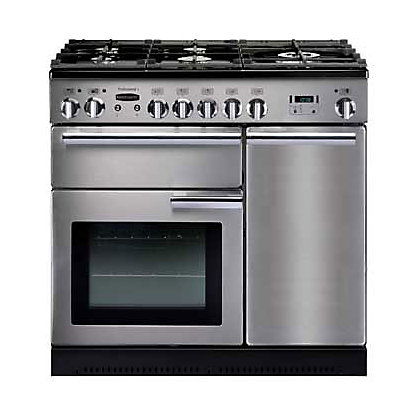 Image for Rangemaster Professional Plus 84340 90cm Dual Fuel Cooker - Silver from StoreName