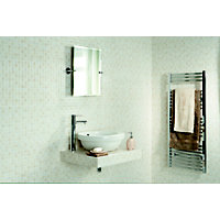 Riva Beige Mosaic Effect Ceramic Wall Tile - 10 Pack