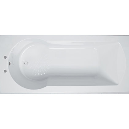 Image for Buttermere Straight Shower Bath - 1700mm from StoreName
