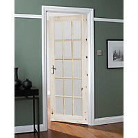 Balmoral 15 Lite Glazed Internal Door - 762mm Wide