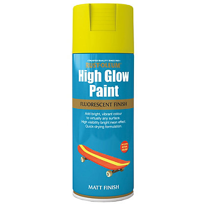 Image for Rust-Oleum High Glow Spray Paint - Yellow - 400ml from StoreName