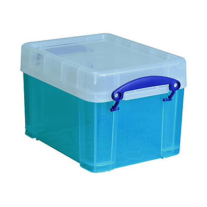 Image for Really Useful Storage Box - Blue - 3L from StoreName