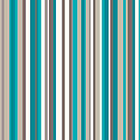 Sophia Stripe Wallpaper - Teal