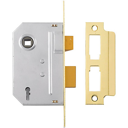 Image for Yale PM246 2 Lever Sashlock 76mm - Brass from StoreName