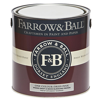 Image for Farrow and Ball Wood Knot & Resin Blocking Primer - 2.5L from StoreName