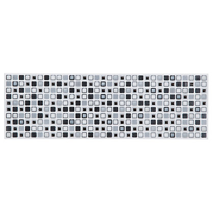 Image for Squares Border Tiles - Grey - 250 x 80mm - 4 Pack from StoreName