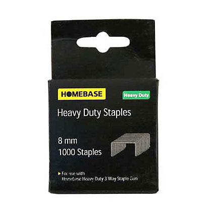Image for Heavy Duty Staples - 6mm - 1000 Pack from StoreName