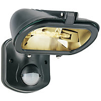120W Anti-Light Pollution PIR Floodlight - Black