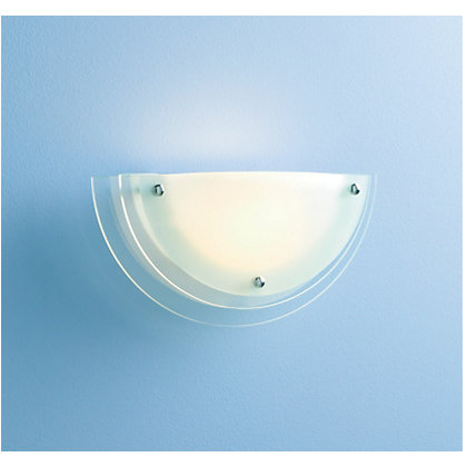 Image for Reno Wall Light - Frosted Clear Glass - 32cm from StoreName